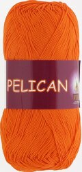 Пряжа Vita Cotton Pelican цвет 3994 морковный
