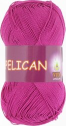 Пряжа Vita Cotton Pelican цвет 4002 цикламен